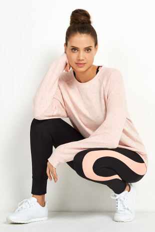 Apricot Active Wear- Pink and black