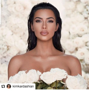 Kim Kardashian West make-up