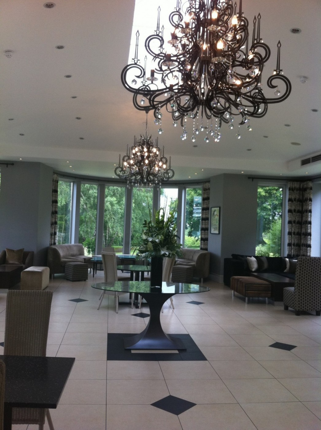 Researching and viewing venues: The Spa Hotel, Tunbridge Wells