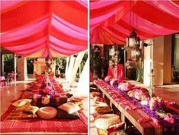 Indian themed wedding