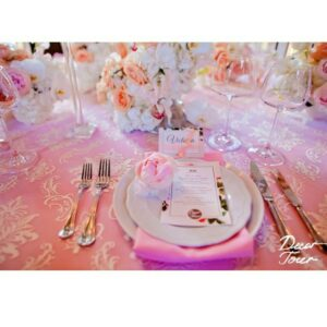 Use Pink to create a romantic feel