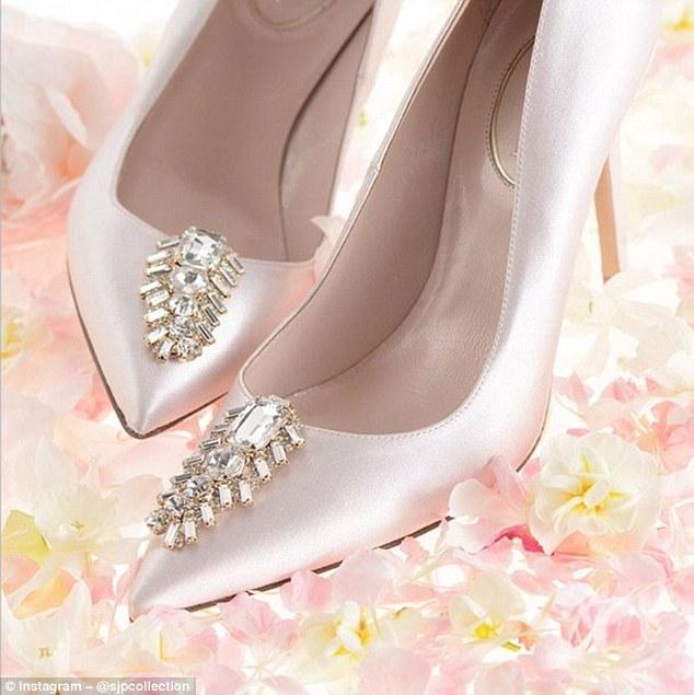 Sarah Jessica Parker's new bridal shoe collection