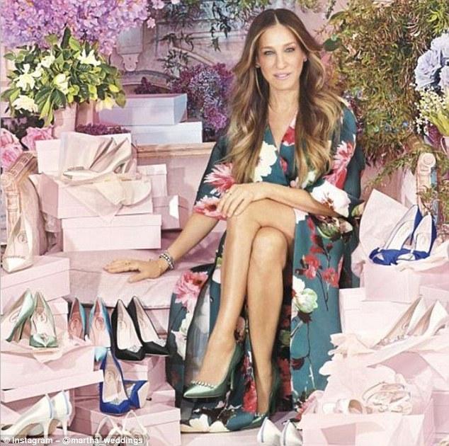 Sarah Jessica Parker's new Bridal Shoe Range
