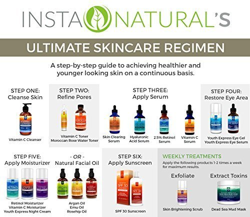 Beauty Review- InstaNatural Hydrating Serum and Eye Gel Review