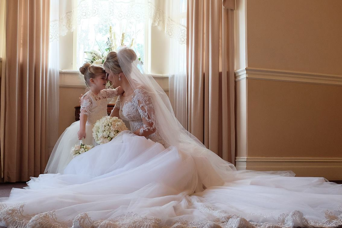 New Bridal Couture Images From Duncan Croft