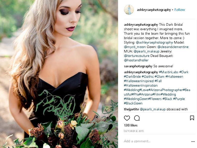 Moody Wedding Trends for The Alternative Bride!