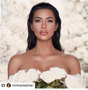 Kim Kardashian West make-up