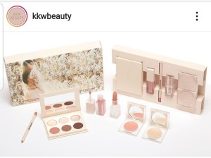 KKW Beauty make-up