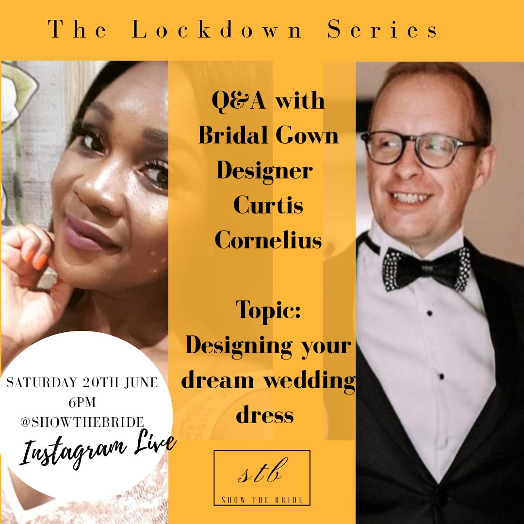 Lockdown Series: Q&A with Curtis Cornelius