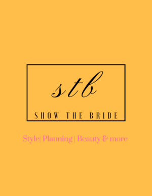 Show the bride - wedding blog - logo